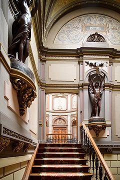 Treppe des Teylers Museums von Teylers Museum
