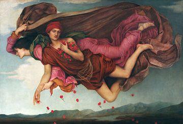 Evelyn De Morgan, Nacht und Schlaf - 1878