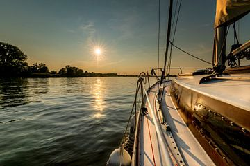 Voyage en voilier sur l'Elbe