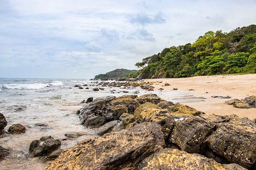 Het strand op Koh Lanta