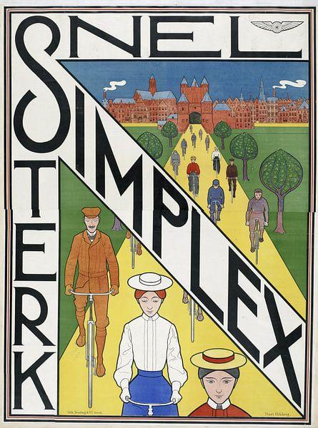 Simplex. Snel sterk, Ferdinand Hart Nibbrig, 1897 van 1000 Schilderijen