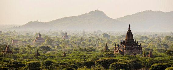 Panorama van Bagan