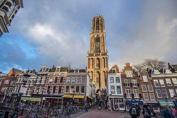 Prachtig licht op de Domtoren in Utrecht von De Utrechtse Internet Courant (DUIC)