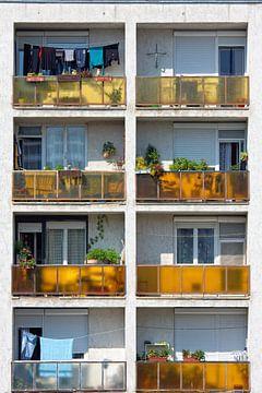 Appartement balkon van Jan Brons