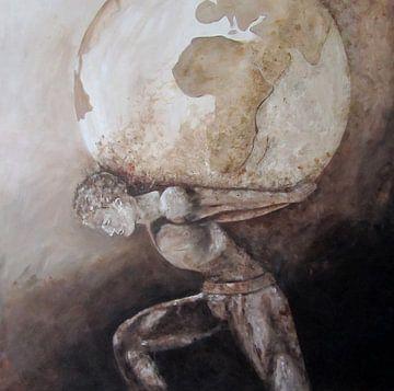 Atlas, de wereld op zijn schouders van Linda Dammann
