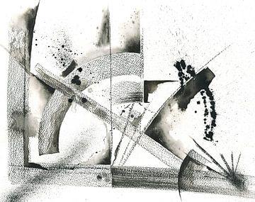 Tuschebogen von Jitka Krause