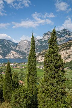 LAKE GARDA Wonderful View van Melanie Viola