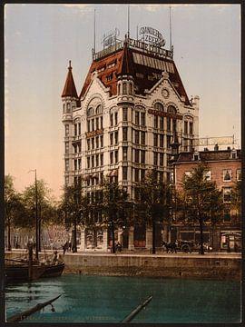 Witte Huis, Rotterdam von Vintage Afbeeldingen