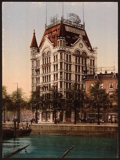 Witte Huis, Rotterdam van Vintage Afbeeldingen