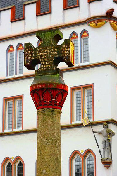 Market Cross in Treves van Gisela Scheffbuch