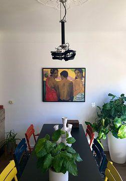 Kundenfoto: Paul Gauguin. Three Tahitians