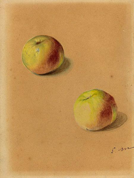 Twee Appelen, Edouard Manet van Liszt Collection