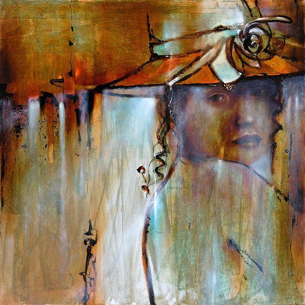 Elena mit Hut von Annette Schmucker
