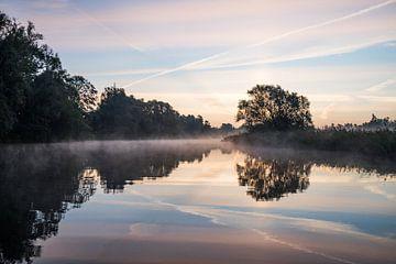 Hollandse lucht in de Brabantse Biesbosch van