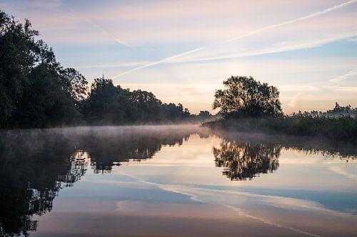 Hollandse lucht in de Brabantse Biesbosch