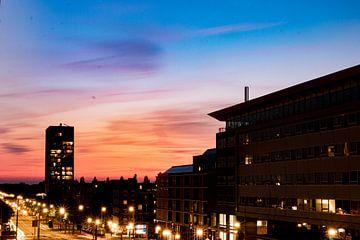Kleurrijke zonsondergang van By Odessa DC