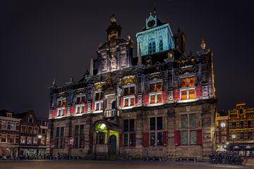 Stadhuis Delft sur Michael van der Burg