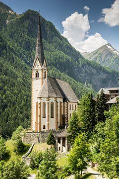 Kirche in Heiligenblut an der Großglockner Hochalpenstrasse von ManfredFotos