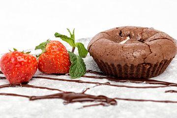 Chocolade soufflé van Miranda van Hulst