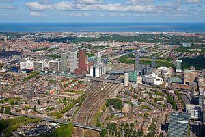 Luchtfoto Den Haag Centraal Station gebied