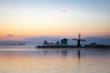 Net voor zonsopkomst... van Goffe Jensma