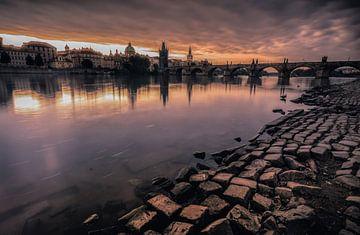 Prague en flammes sur Joris Pannemans - Loris Photography