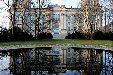 Rijksdaggebouw in Berlijn van Audrey Nijhof