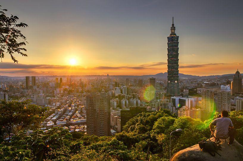 Taipei Tower 101 van Sven Wildschut