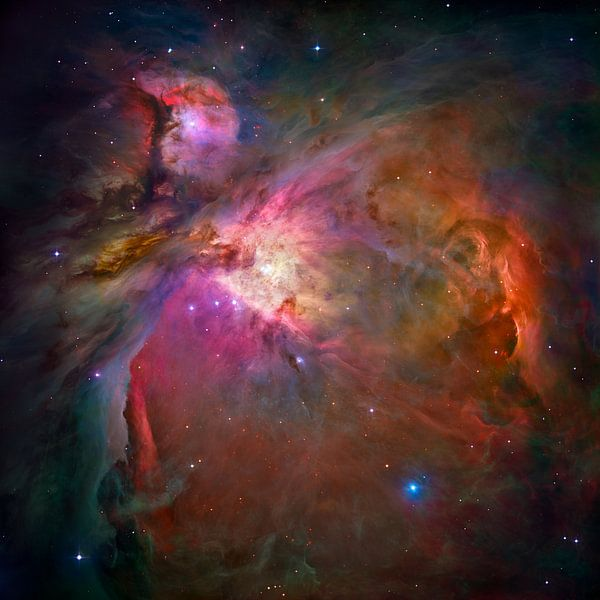 Hubble Telescope ruimte foto,s van NASA van Brian Morgan