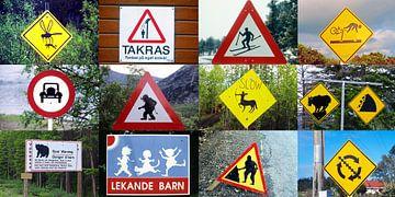 Verkeersborden uit de hele wereld van Reinhard  Pantke