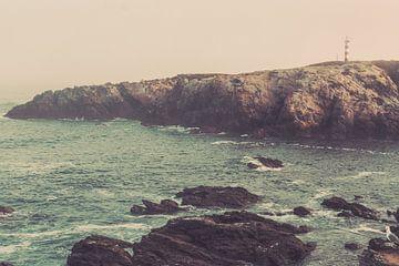 Leuchtturm Sines - Wilde Küste Portugal von FOTOFOLIO.DE