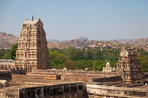 Virupaksha tempel, Hampi, India van