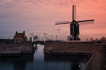 Hollands stadsgezicht van Jellie van Althuis