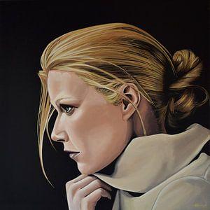 Gwyneth Paltrow schilderij