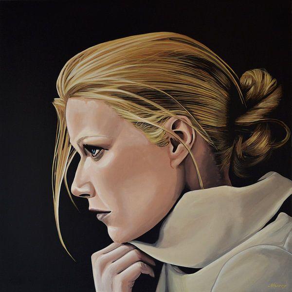 Gwyneth Paltrow schilderij van Paul Meijering