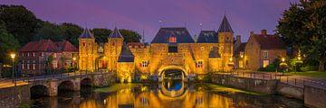 Panorama van de Koppelpoort in Amersfoort van Henk Meijer Photography