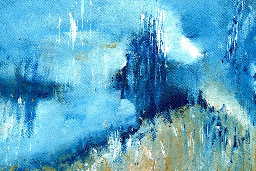WINTERBLAU van Katarina Niksic
