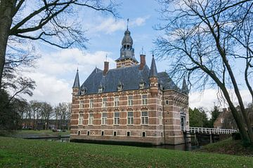 Het mooie kasteel Wijchen, nabij Nijmegen