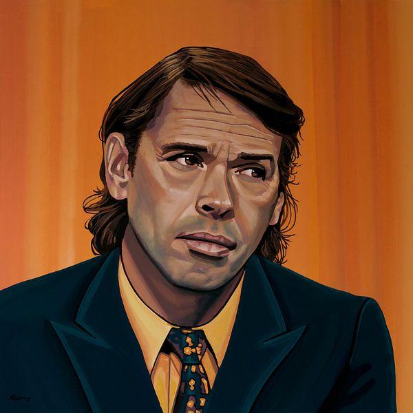 Jaques Brel Schilderij van Paul Meijering