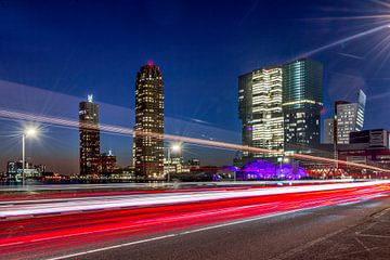 Rotterdam in beweging von Bert Buijsrogge