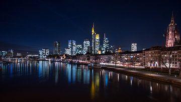 Frankfurt am Main / Skyline von Michael Blankennagel