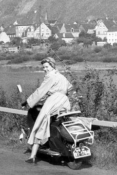 Lambretta 1950er Jahre von Timeview Vintage Images