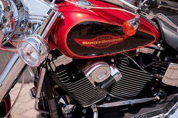 Harley Davidson van