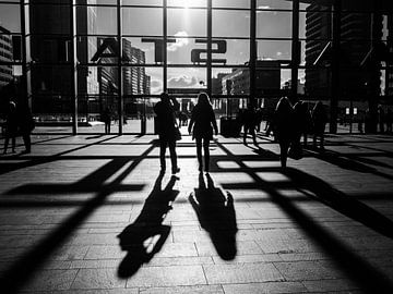 Rotterdam Hauptbahnhof von Fokko Muller