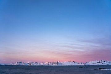 Het arctische winter licht van Jelle Dobma