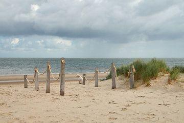 Kaap Noord op Texel van Ad Jekel
