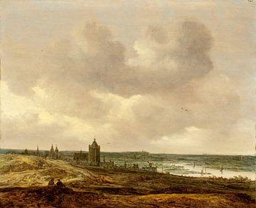 Jan van Goyen. Gezicht op Arnhem