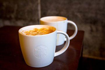 Starbucks koffie sur Ramon Bovenlander