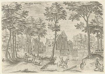 Hans Collaert (I), Blick auf das Flussschloss