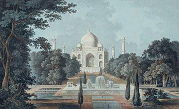 Taj Mahal Agra von Andrea Haase